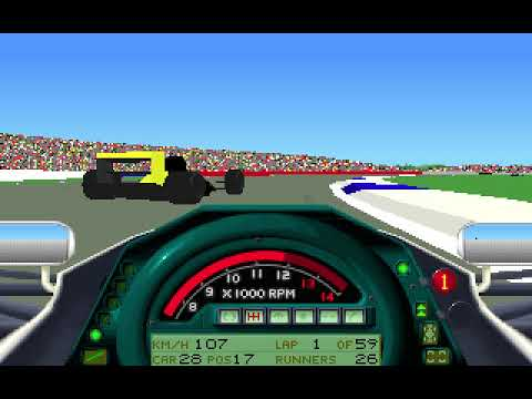 MicroProse Formula One Grand Prix Geoff Crammond British Grand Prix Round 8 (F1 1991)