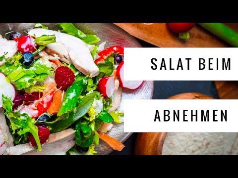 Salat beim Abnehmen gut? Welches Dressing ist das beste?