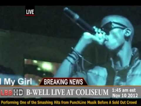 B-WELL Live Performance at Coliseum