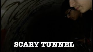 Exploring Scary Haunted Tunnel (UNKNOWN ACCIDENT STORY)
