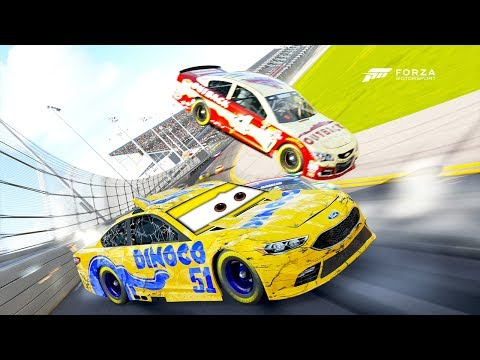 Cruz Ramirez Crashes Hard! | Forza Motorsport 6 | NASCAR Expansion