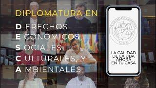 Nueva diplomatura a distancia en Derechos Económicos, Sociales, Culturales y Ambientales