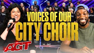 Beyond the Stage Brought to You by Dunkin': Voices of Our City Choir - America's Got Talent 2020 thumbnail