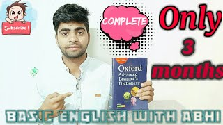 How To Learn Dictionary In Three Months Completely