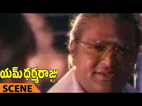 Mohan Babu Want To Kill This Wife Scene || M Dharmaraju MA Telugu Movie || Mohan Babu, Rambha