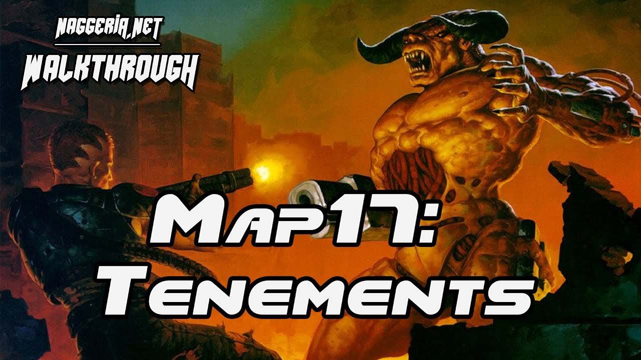 "[Doom 2 Komplettlösung] Map17: ""Tenements"" Walkthrough (Ultra-Violence)"