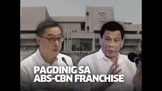ABS-CBN Corporation President and Chief Executive Officer Carlo Katigbak on Monday apologized to President Rodrigo Duterte as he explained the reason why the network was not able to air his political ads in the 2016 elections.  State of the Nation is a nightly newscast anchored by award-winning broadcast journalist, Jessica Soho. It airs Mondays to Fridays at 9:00 PM (PHL Time) on GMA News TV Channel 11. For more videos from State of the Nation, visit http://www.gmanews.tv/stateofthenation.  For Kapuso abroad, subscribe to GMA Pinoy TV (http://www.gmapinoytv.com/) for GMA programs.  GMA promotes healthy debate and conversation online.  Any abusive language that does not facilitate productive discourse will be blocked from this post.     GMA upholds ethical standards of fairness, objectivity, accuracy, transparency, balance and independence.   Walang Kinikilingan, Walang Pinoprotektahan, Serbisyong totoo lamang. #GMANews   Subscribe to the GMA News channel: https://www.youtube.com/user/gmanews  Visit the GMA News and Public Affairs Portal: http://www.gmanews.tv  Connect with us on: Facebook: http://www.facebook.com/gmanews Twitter: http://www.twitter.com/gmanews Instagram: http://www.instagram.com/gmanews