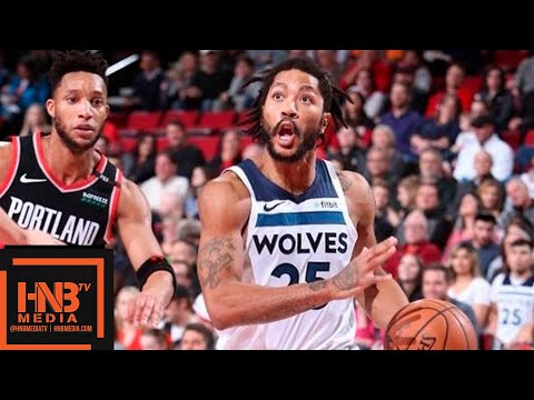 Minnesota Timberwolves vs Portland Trail Blazers Full Game Highlights   12.08.2018, NBA Season