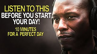 10 Minutes to Start Your Day Right! - MORNING MOTIVATION | Motivational Video for Success