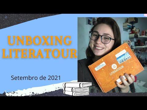 UNBOXING LITERATOUR - SETEMBRO DE 2021