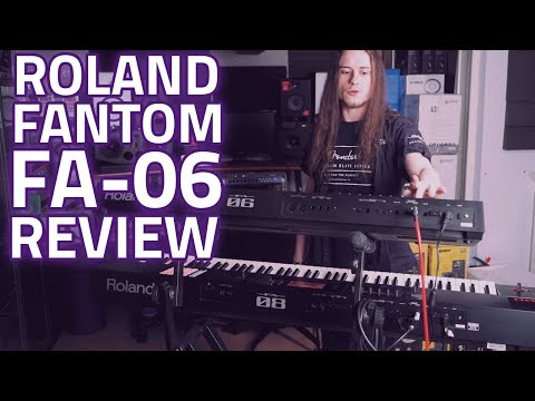 Roland Fantom FA-06 Music Synthesizer Workstation Review