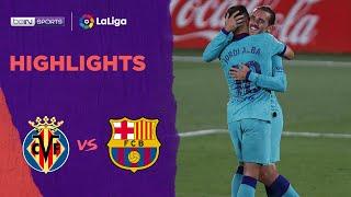 Villarreal 1-4 Barcelona   LaLiga 19/20 Match Highlights, Senin, 6 Juli 2020.  Barcelona meraih kemenangan tandang 4-1 atas Villarreal di Estadio de la Cerámica. Gol-gol Barcelona dicetak oleh Suarez, Griezmann, Ansu Fati dan Gol bunuh diri Pau Torres. Hasil ini membuat Barcelona berjarak empat poin di belakang pemuncak klasemen Real Madrid dalam perburuan gelar.  Tonton keseruan liga-liga terbaik hanya di beIN Sports Connect https://bein.onelink.me/PGZK/beinYT  Simak berita dan update menarik seputar liga terbaik dan beIN SPORTS Indonesia di semua sosial media:  Facebook https://www.facebook.com/beinsportsindonesia/ Twitter https://twitter.com/beinsportsid?lang=en Instagram https://www.instagram.com/beinsports.id/ YouTube https://www.youtube.com/channel/UCViN2fPWI6zuZDXwn0O54xg