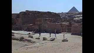 preview picture of video 'Sfinga-Giza,Egipat'