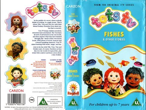 Tots TV: Fishes and Other Stories (1997 UK VHS)