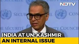 """Entirely Internal Matter,"" Says India After UNSC Closed Door Meet On J&K"