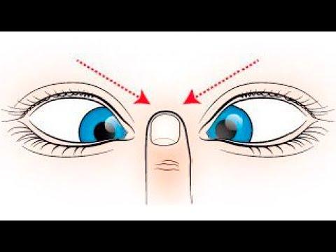 Как восстановить зрение по йоге