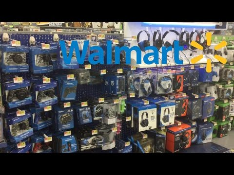 LOOKING AT PS4 ACCESSORIES (WALMART) + EXCLUSIVE PS4?!