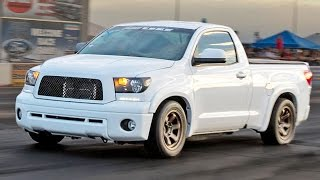The FUNDRA - TRD Supercharged Toyota TUNDRA! by 1320Video