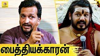 சூரியனை ஒத்த கையில் நிப்பாட்டிய நித்தி ! | Piyush Manush Interview About Nithyananda