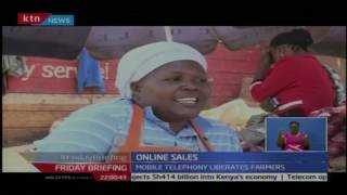 Group of farmers from Nyandarua are now selling their crops over the internet