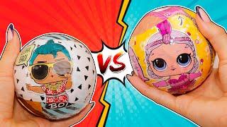 Новые куклы ПРОТИВ Старых! Мальчики и Золотой шар лол РАСПАКОВКА! Мультики про куклы лол LOL Dolls