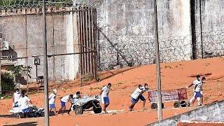 Бунт в бразильской тюрьме Алькасуш: десятки погибших и раненых
