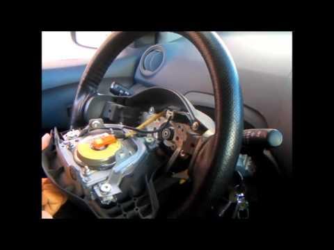 cinta espiral airbag claxon toyota yaris   en