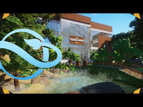 Our BIGGEST BUILD Yet! Huge Rainforest House!   Planet Zoo (Franchise Mode)