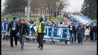 Pochod fanoušků Komety Brno (30.11. 2014)