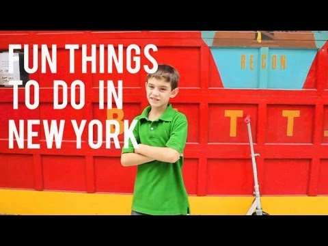 Fun things to do in New York for Kids and Adults