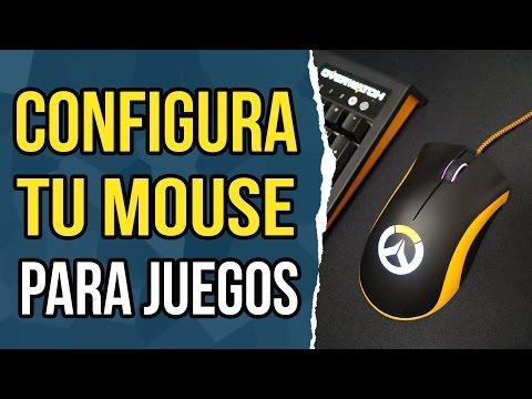 Como configurar tu mouse para video juegos.