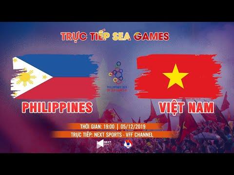 TRỰC TIẾP | NỮ PHILIPPINES - NỮ VIỆT NAM | BÓNG ĐÁ SEA GAMES 30 | VFF CHANNEL