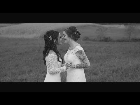 Katrina and Katie's Wedding Film at Diamond Lane Farm