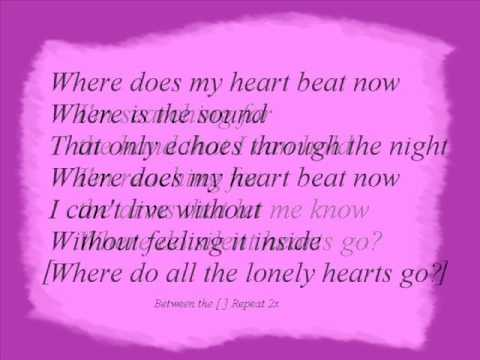 Celine Dion - Where Does My Heart Beat Now + Lyrics