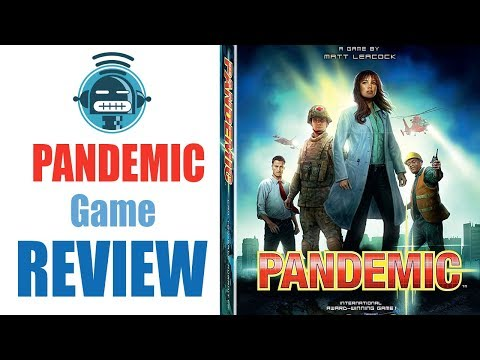 Pandemic board game review - Demented Robot Games