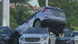 Driver Involved In Two Separate Crashes In Hialeah