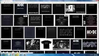 Como Descargar El Album BACK IN BLACK COMPLETO! | Mr .X