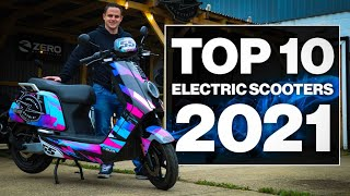 Top 10 Electric Scooters 2021!