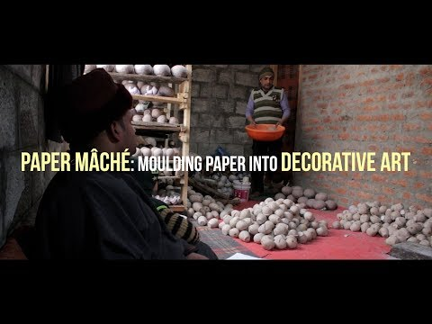 Paper mâché: Moulding paper into decorative art