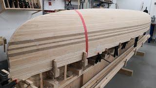 Bau eines Kanus in Leistenbauweise Teil 1