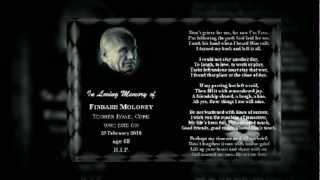 Memorial Cards Cork