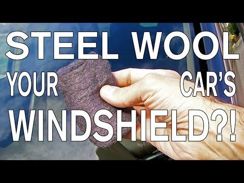 Ένας διαφορετικός τρόπος για να καθαρίσετε τα τζάμια του αυτοκινήτου σας: με ψιλό συρματάκι