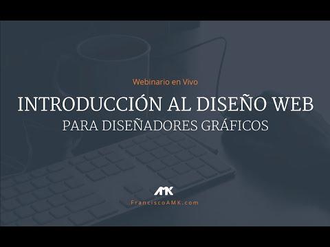 """Webinario: """"Introducción al diseño web"""""""
