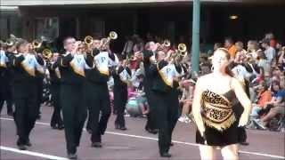 Panthers at PFHOF Grand Parade 2014