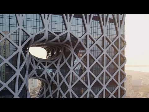 dji--inspire-2--macau's-highrise-exoskeleton
