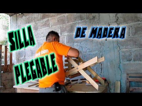 Cómo hacer una silla plegable sin ser carpintero