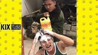 Watch keep laugh EP537 ● The funny moments 2019