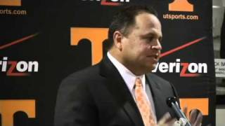 Dave Serrano introduced as Tennessee's new baseball coach (Pt. 2)