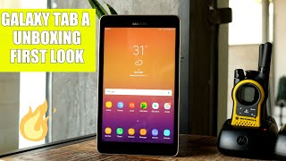 Samsung Galaxy Tab A 2017 Unboxing and First Look - dooclip.me