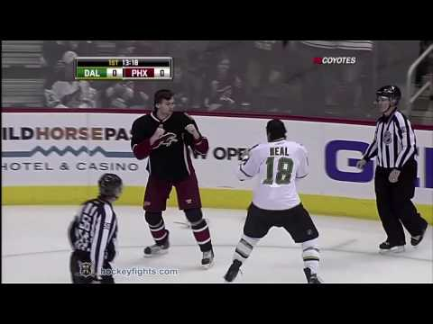 Martin Hanzal vs. James Neal